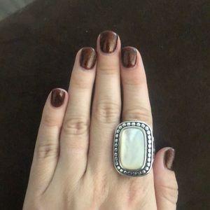 Premier designs chunky opal ring